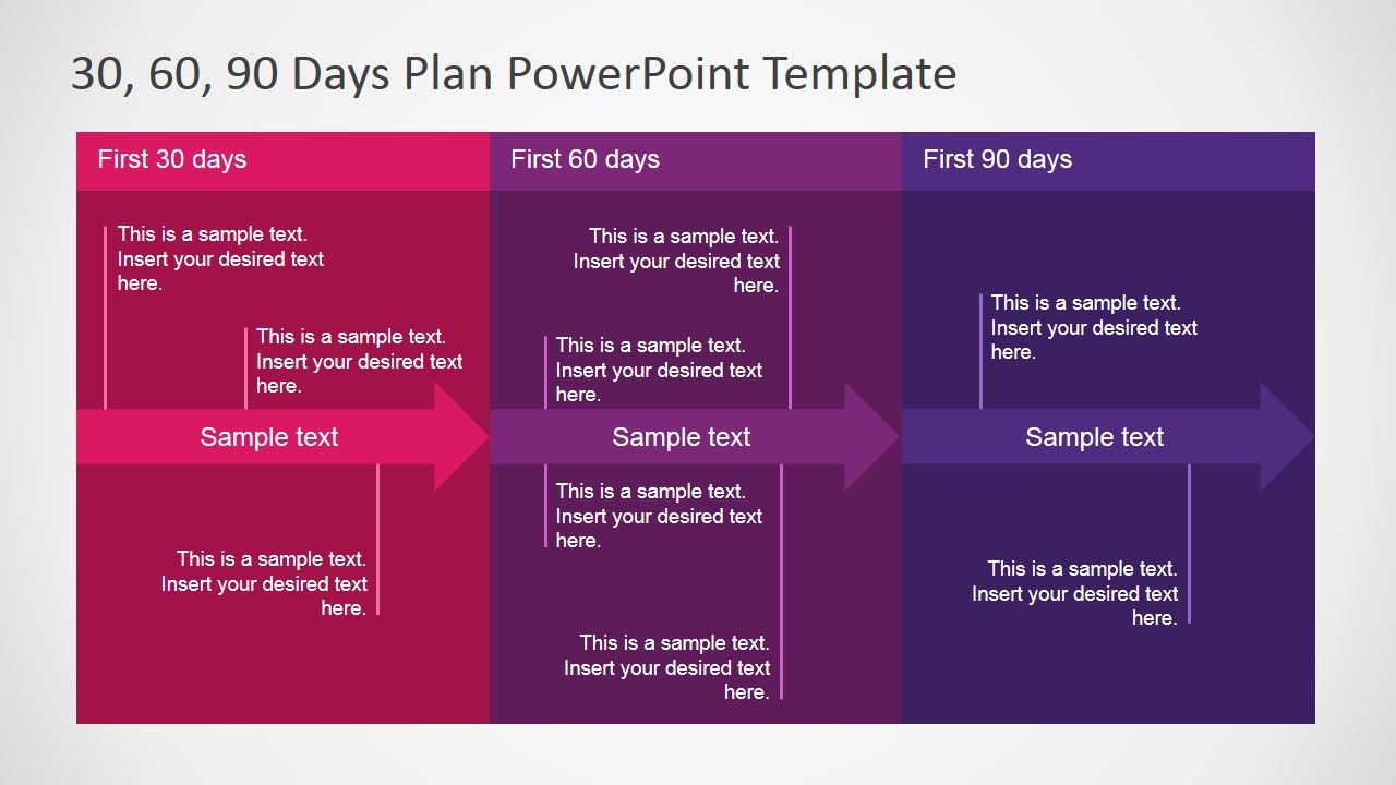 Days Plan Powerpoint Template