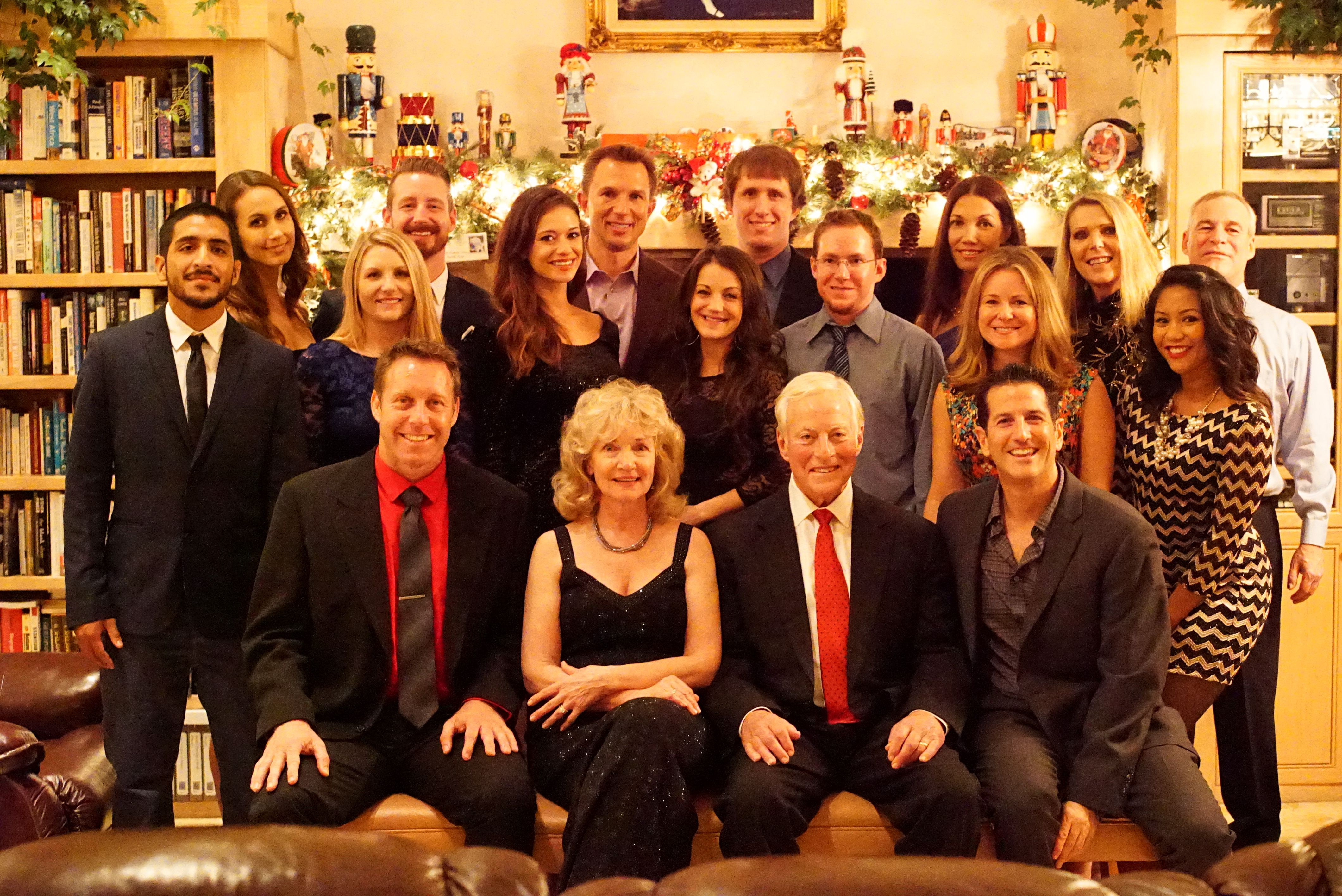 Annual Dinner Party Part - 39: The Brian Tracy International Team Got Together At My House For Our Annual  Holiday Dinner Party
