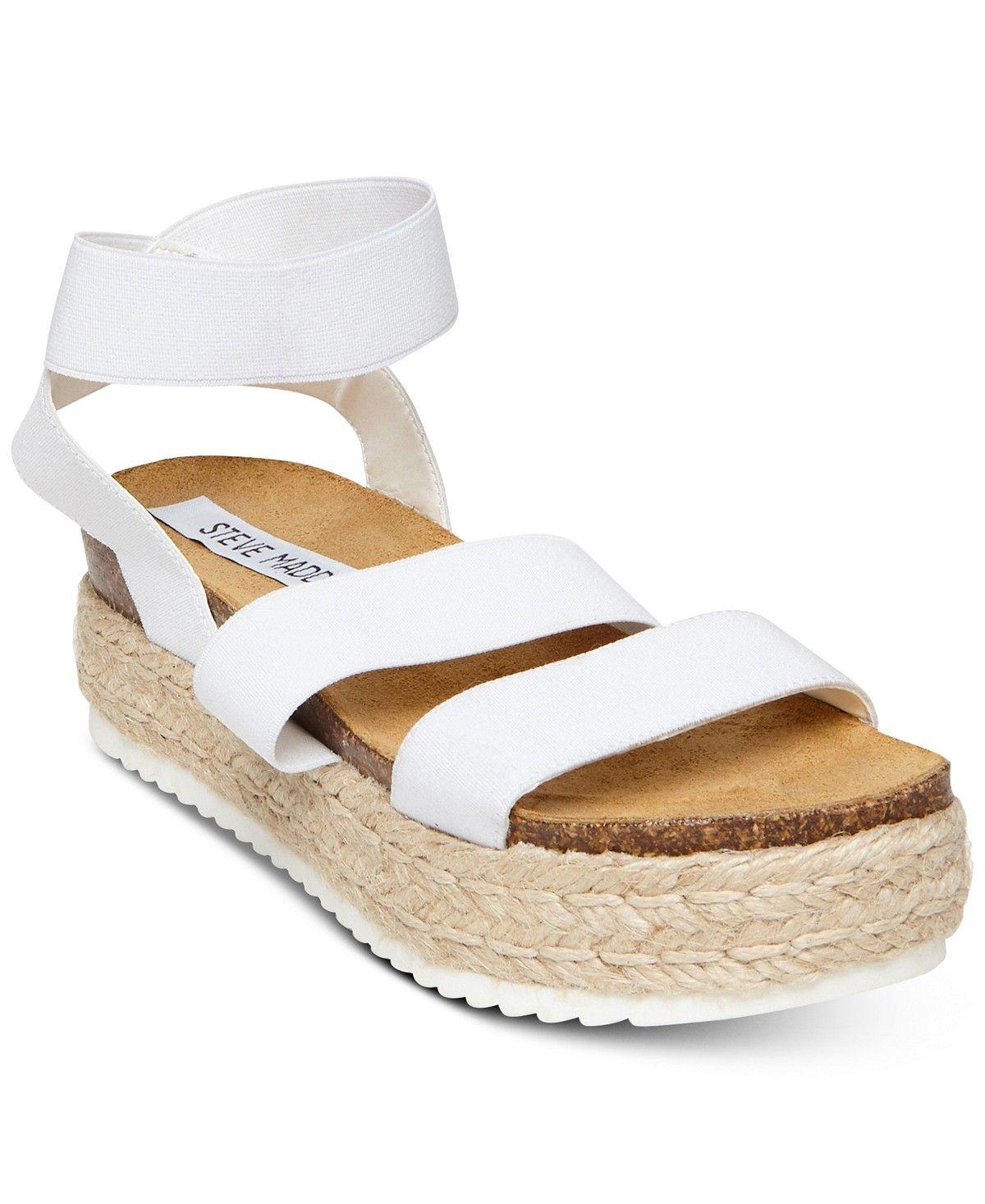 51b8d36c569 Steve Madden Women s Kimmie Flatform Espadrille Sandals - Sandals - Shoes -  Macy s