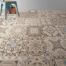 Sol Pvc Bleu Shalimar Artens Textile L 4 M Toilette Avec Images Vinyle Carreaux De Ciment Carreau De Ciment Sol Vinyle