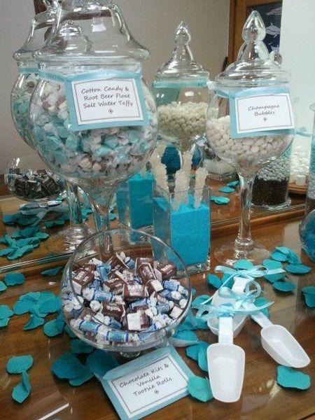 Tiffanys Themed Wedding Candy Buffet Tiffany Love Pinterest