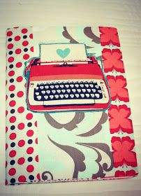 Craftin Mechanic: Typewriter journal cover