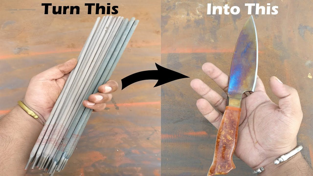 Turning Stainless Steel Welding Electrodes Into Chefs