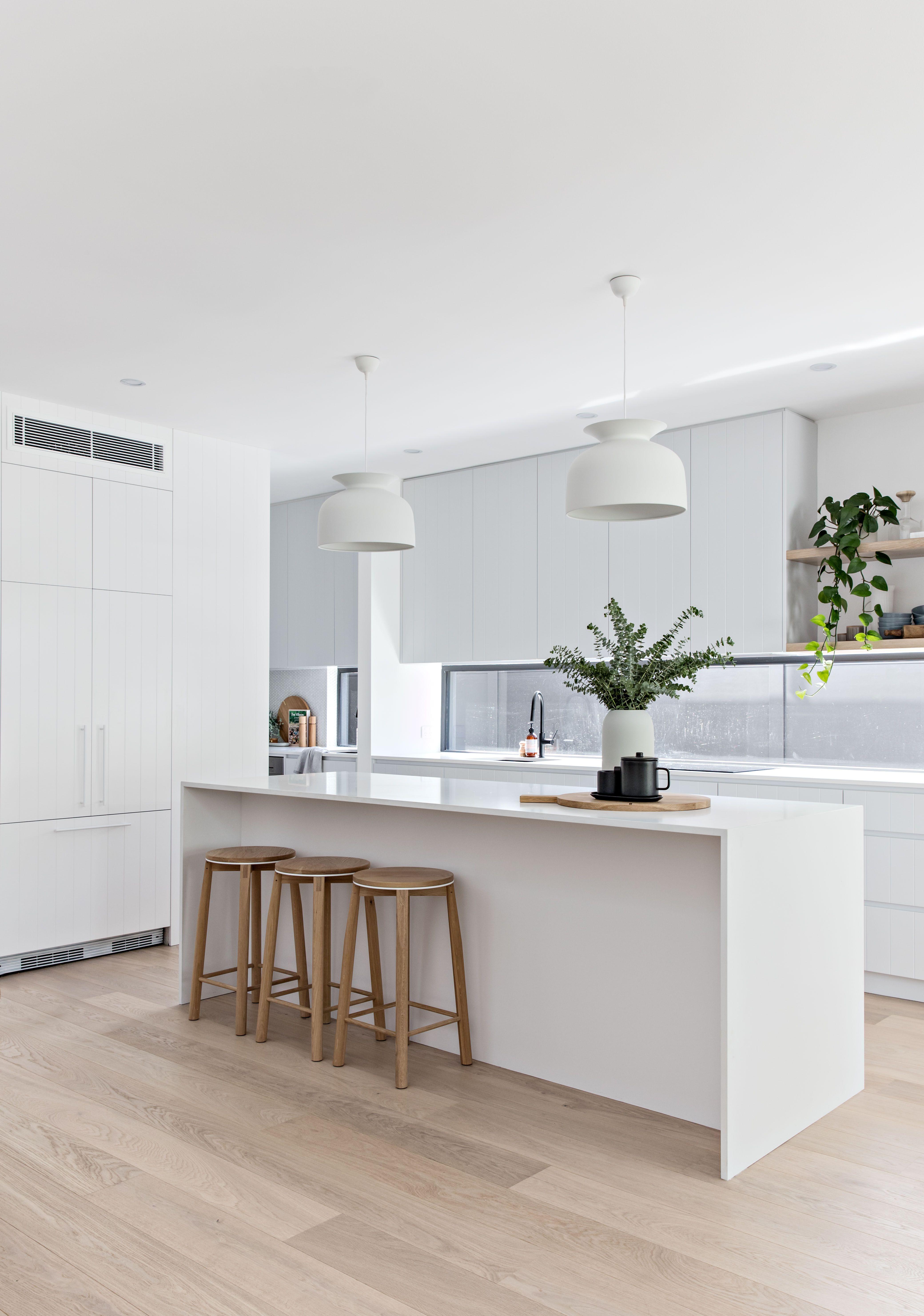 pinterest  siennnalee  White modern kitchen, Home decor kitchen