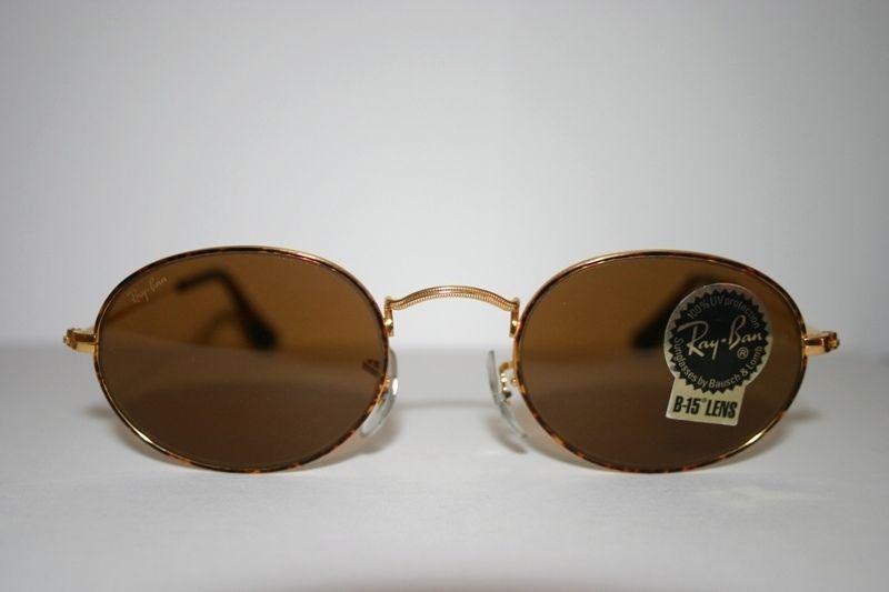 b5e405f7e44 Vintage W2183 Ray Ban Rayban Bausch   Lomb B 15 Oval Arista Sunglasses Gold   RayBan  ARISTA  Street wear  Vintage  Casual  239.77