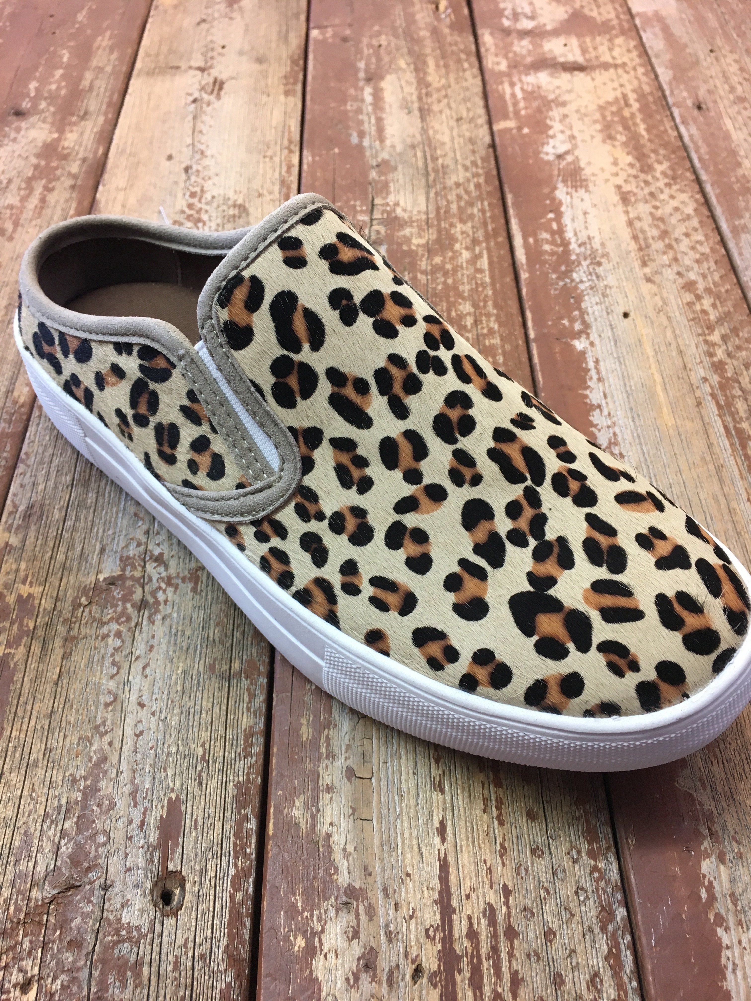 a9a19b7c4847 Naughty Monkey Hair on Hide Leopard Slide On in 2019 | Products ...