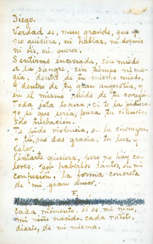 frida kahlos passionate handwritten love letters to diego rivera brain pickings