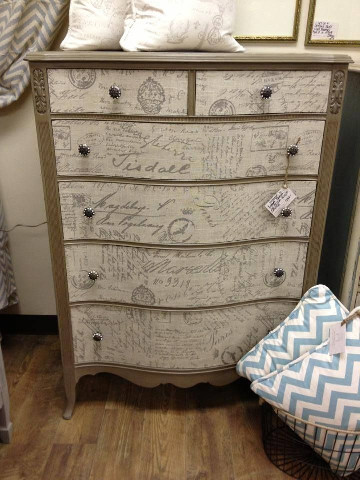 Furniture Decoupage: Ideas And Master Classes To Create A Shabby Chic And  Provence Atmosphere