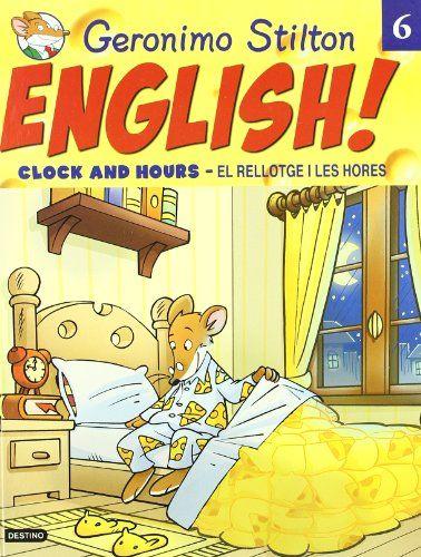 ¡Con Geronimo Stilton, aprender inglés será más fácil y divertido! Disfrutarás de sus aventuras!!!!!!!