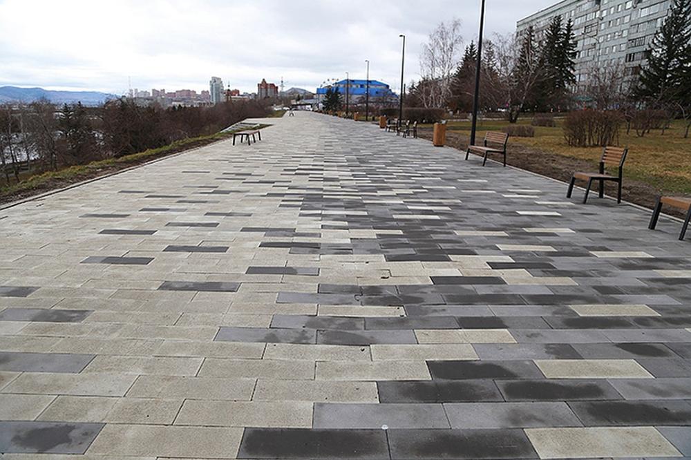 Архитектурный бетон покрытие пешеходных зон