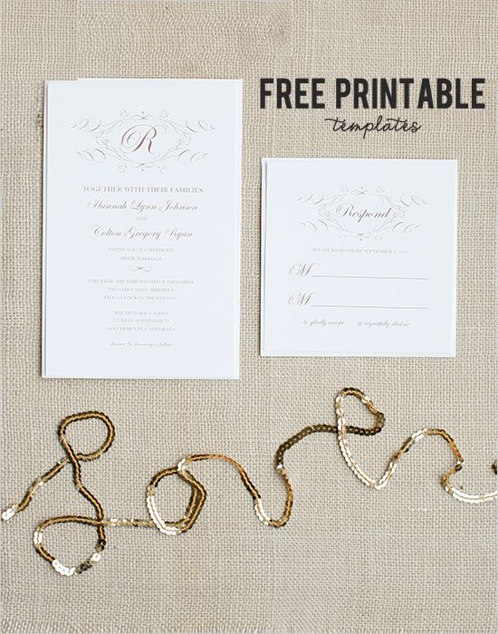 17 Best images about Free Wedding Printables – Free Printable Wedding Thank You Cards