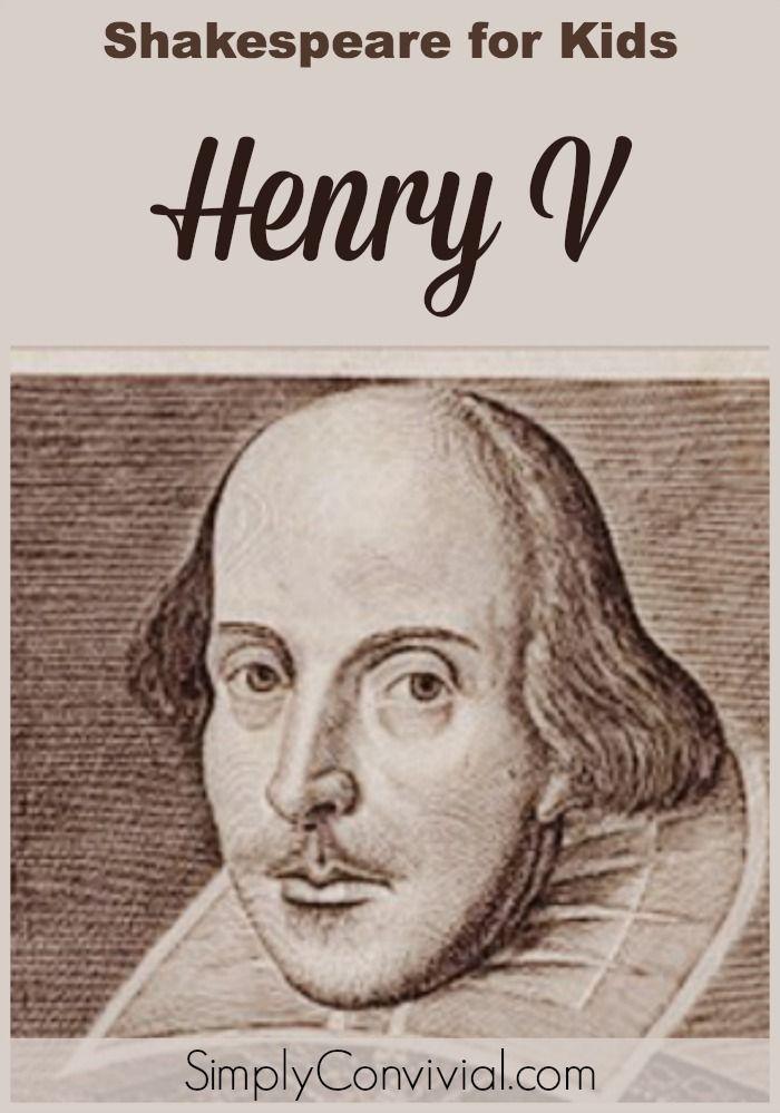 Lesson Plans for Shakespeare's Henry V | Home, Kid and Vs