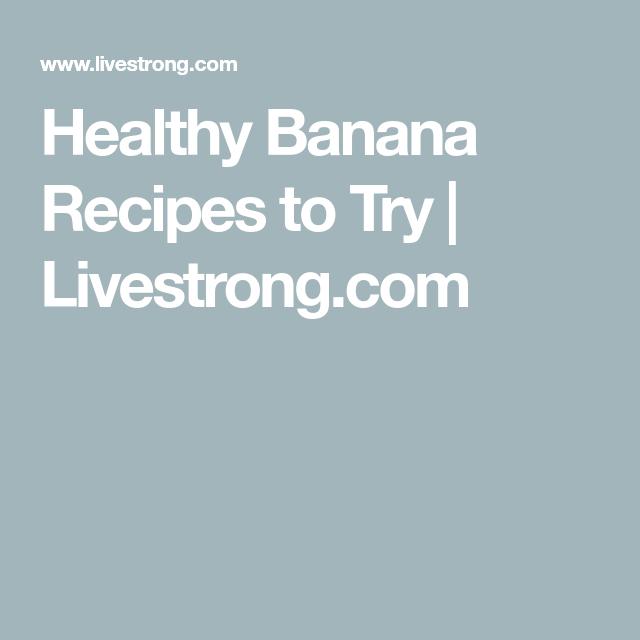 5 Brilliant Banana Recipes You Haven't Tried #frozenbananarecipes