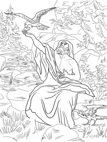 Image Result For Bible Coloring Pages Mary And Martha Bible