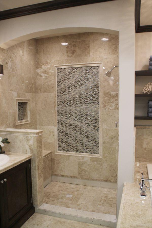 House Update Tile Master Bath Shower Rustic Bathroom