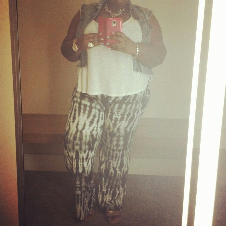 Outfit of the day!!! #plussizefashion #powertocurves #boho