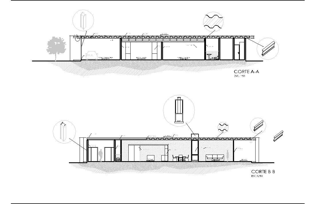 Cavica proyectos de arquitectura casas pinterest for Case study house 8 floor plan