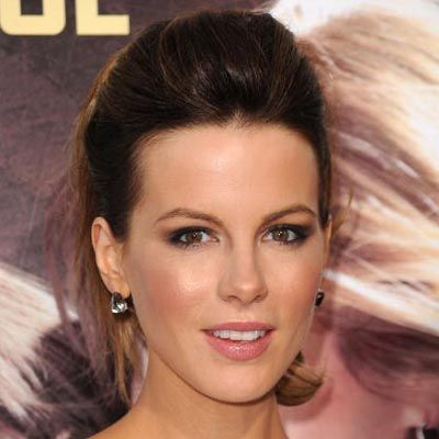 Lots Of Volume And Curls Makes Kate Beckinsales Ponytail Fun Formal