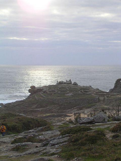 Poblado prehistorico en Galicia