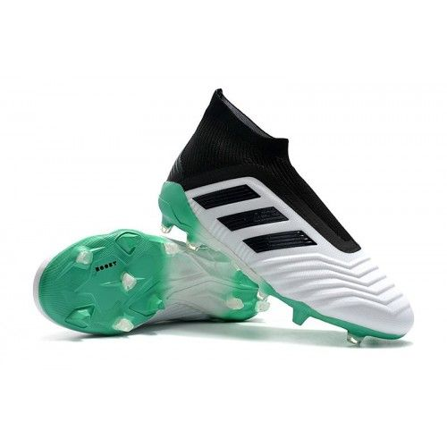 Increíble Estribillo Excelente  Adidas Predator 18+ FG Mens Football Boots - White/Green/Black London visit  us:http://www.sportbootsmall.co.uk … | Chuteiras adidas, Chuteiras de  futebol, Chuteiras