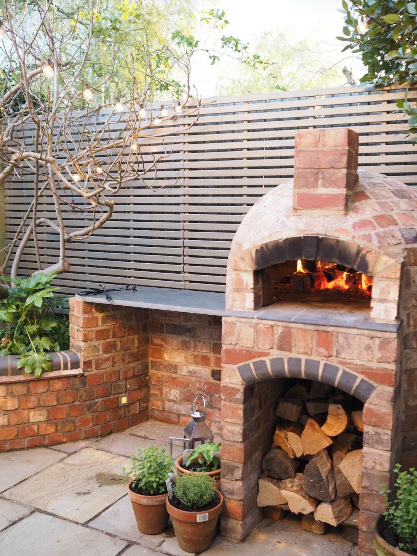 Die Installation eines Holzofen in unserem Garten  – garden inspiration