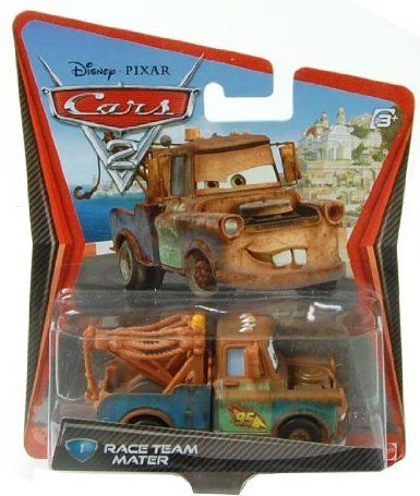 Disney Pixar Cars 2 Movie 155 Die Cast Car 1 Race Team Mater Toys Games Who Doesn T Love Mater Stocking Stuff Disney Pixar Cars Cars 2 Movie Pixar Cars