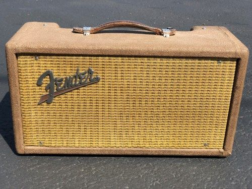1961 Fender Reverb Unit #vintageguitars 1961 Fender Reverb Unit Brown $3,289.00 #vintageguitars