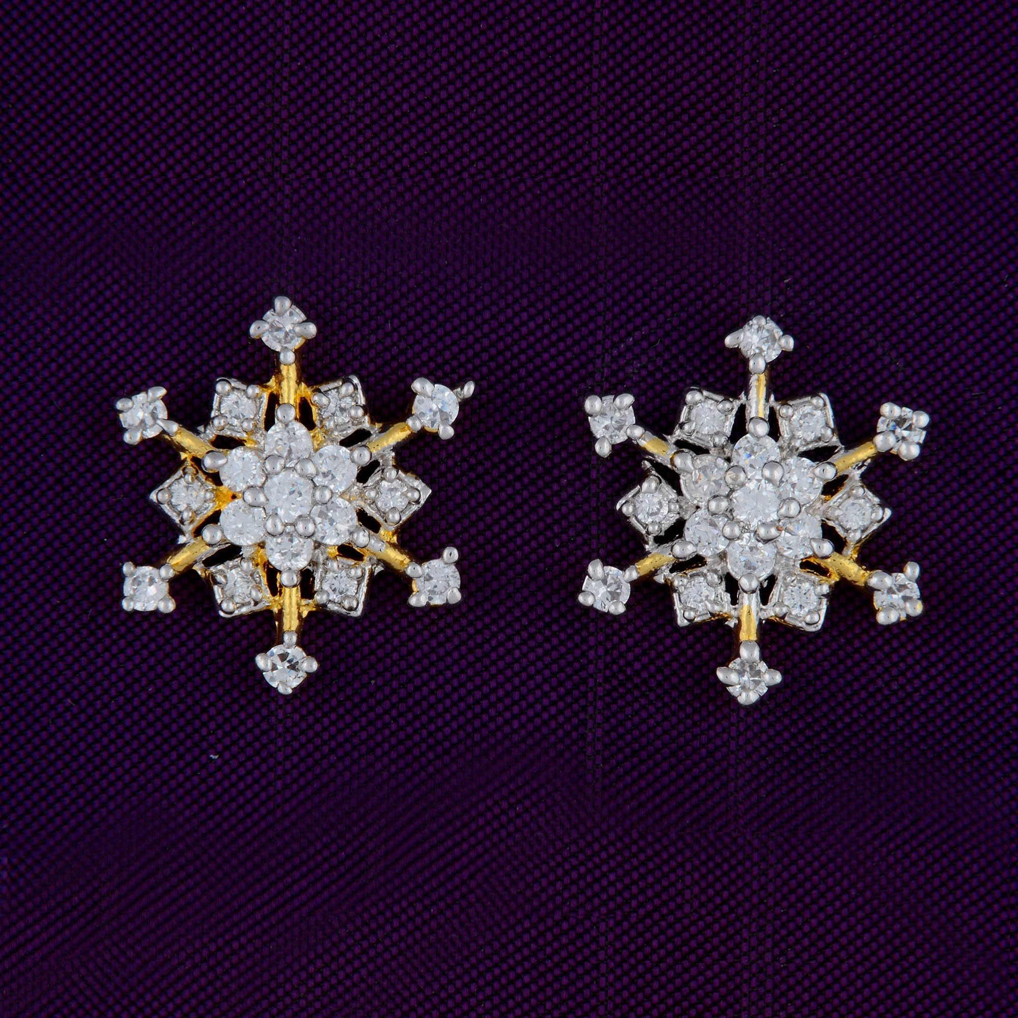 dwarkesh ade american diamond product earrings jewels