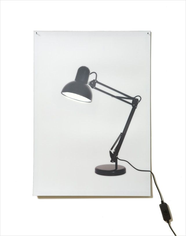 The Classic Desk Lamp Reimagined As A Trippy 2 D Poster Lamp Desk Lamp Anglepoise Lamp