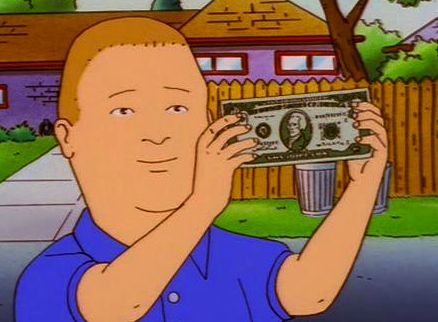 Hero Status Bobby Hill Rookie Bobby Hill King Of The Hill Bobby