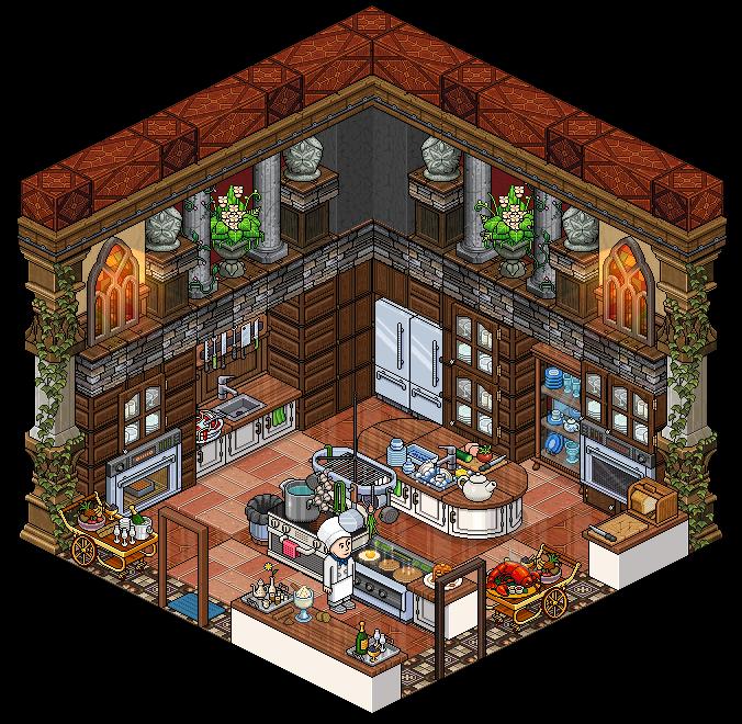 Kitchen By Cutiezor.deviantart.com On