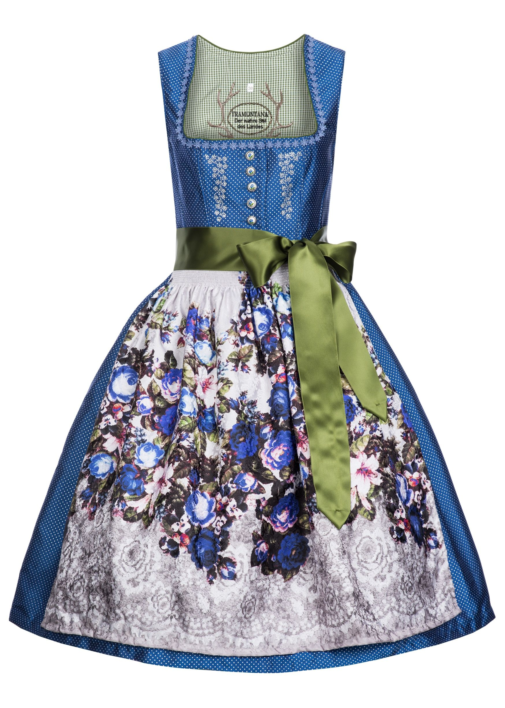 Country Line Dirndl MICHELLE blau - Country Line - LAWANGO ...