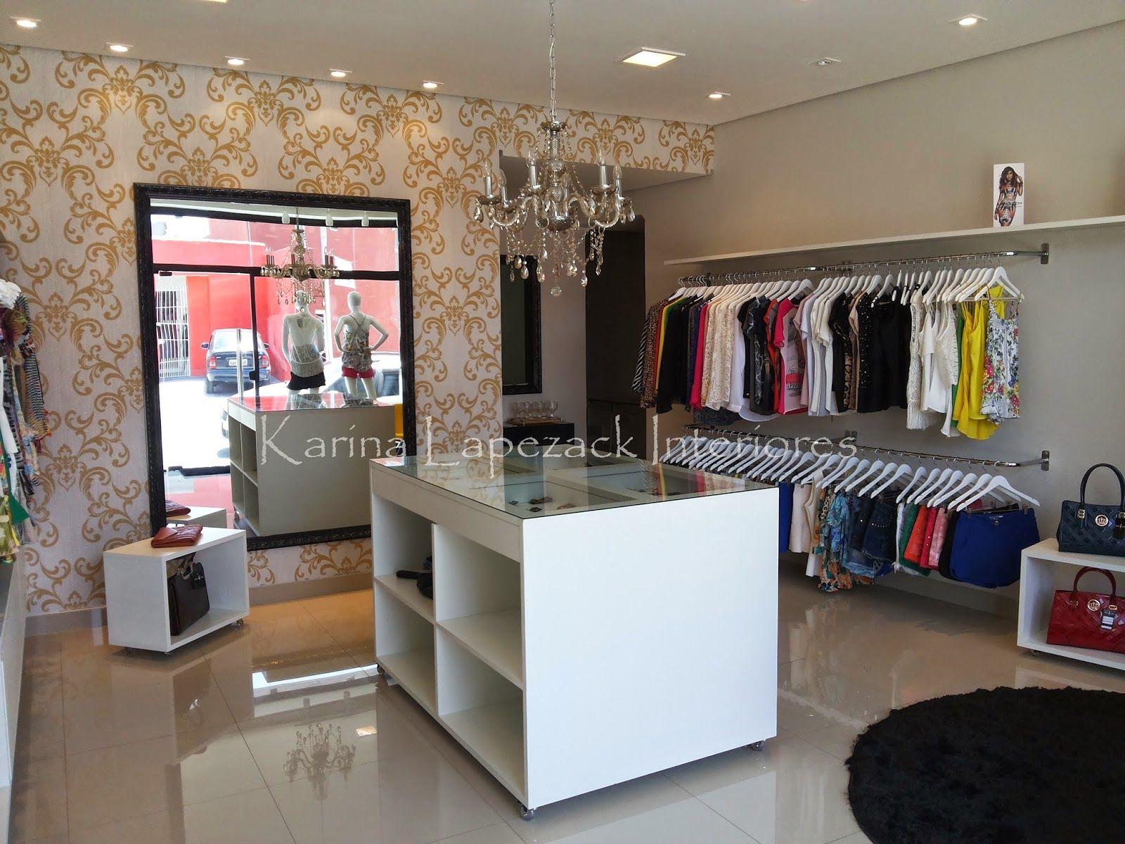Resultado de imagem para modelo de loja pequena de roupas MODELO DE LOJAS Decoraç u00e3o de loja  -> Decoracao Para Loja Feminina Pequena