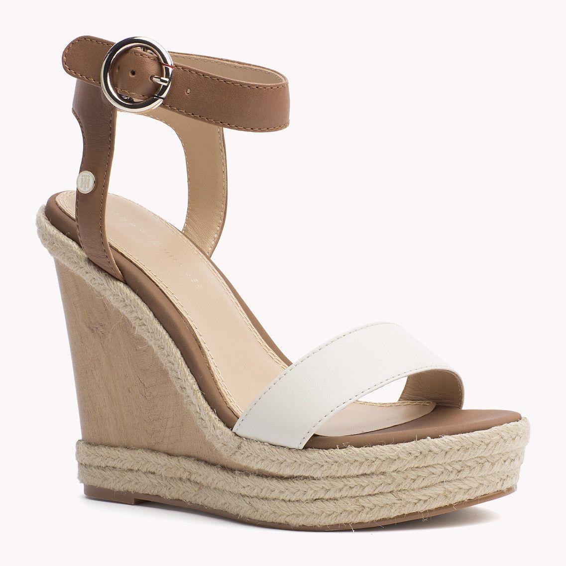 Achetez votre chaussures compensées en cuir acheter la nouvelle collection de espadrilles pour femme. Retours