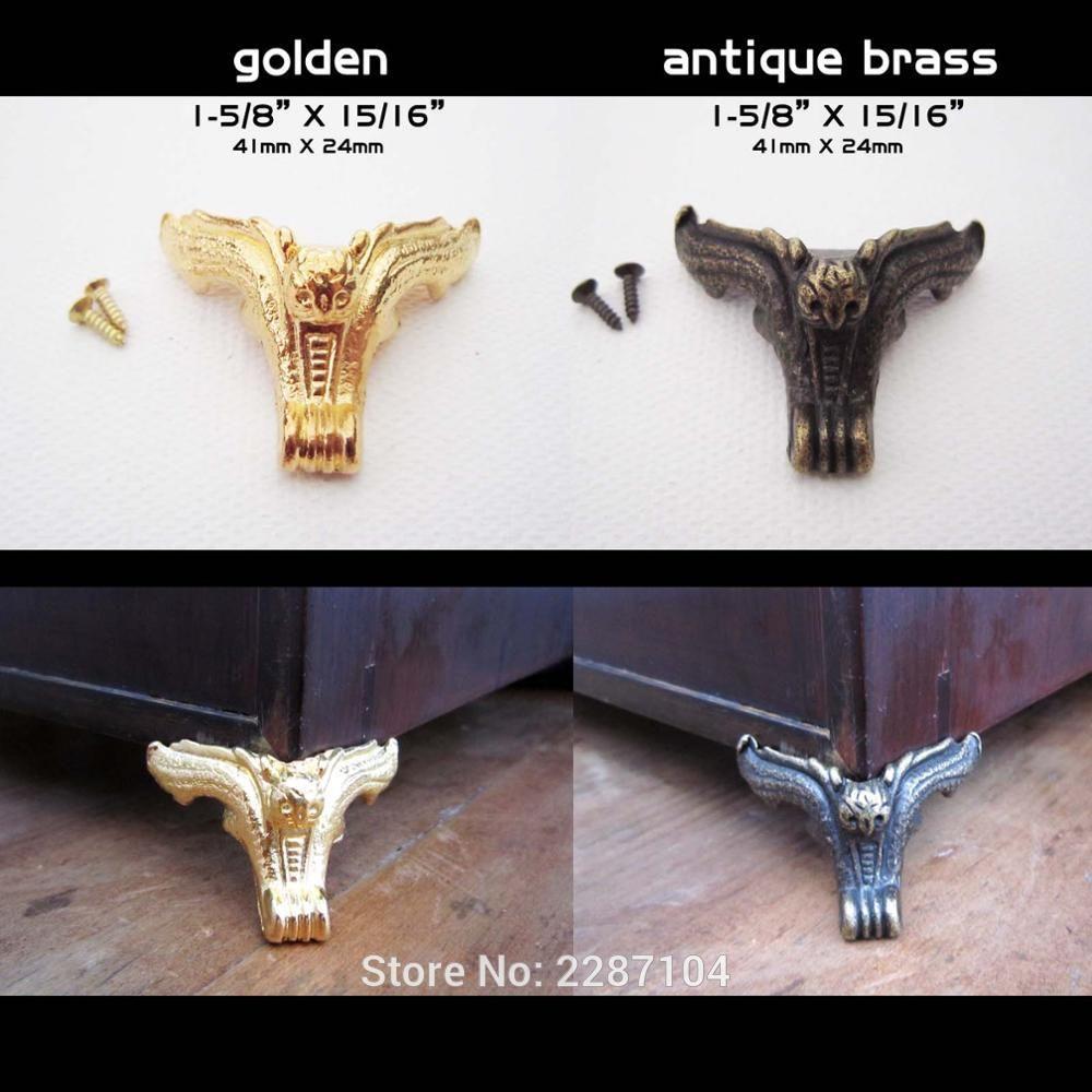 4 Stucke Marke Neue Dekorative Vintage Retro Schmuck Brust Box