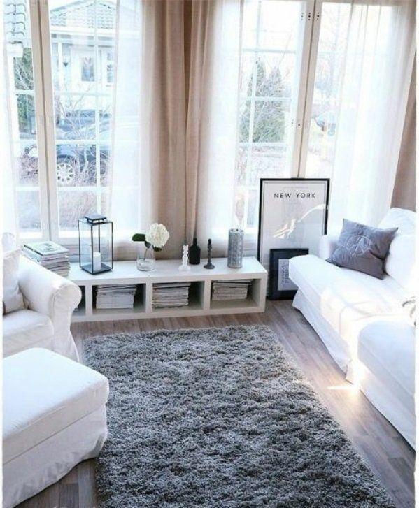 50 Helle Wohnzimmereinrichtung Ideen My First Home 3 Pinterest