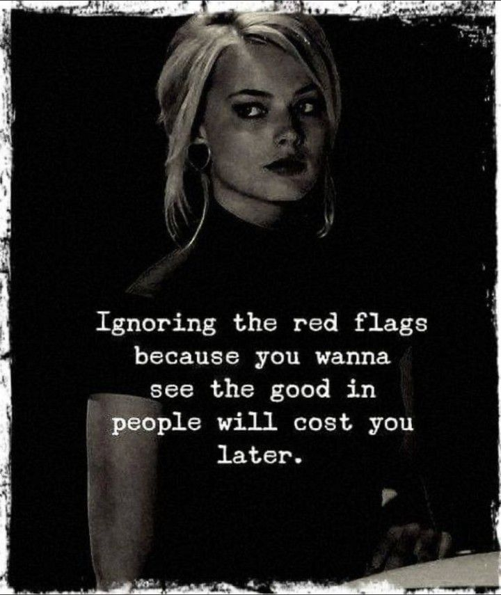 """Psycho Chick on Instagram: """"It usually does 😒 #psychochick #psychochickbook #redflags #ignoringredflags #toxicrelationships #relationshipproblems #healfirst"""""""