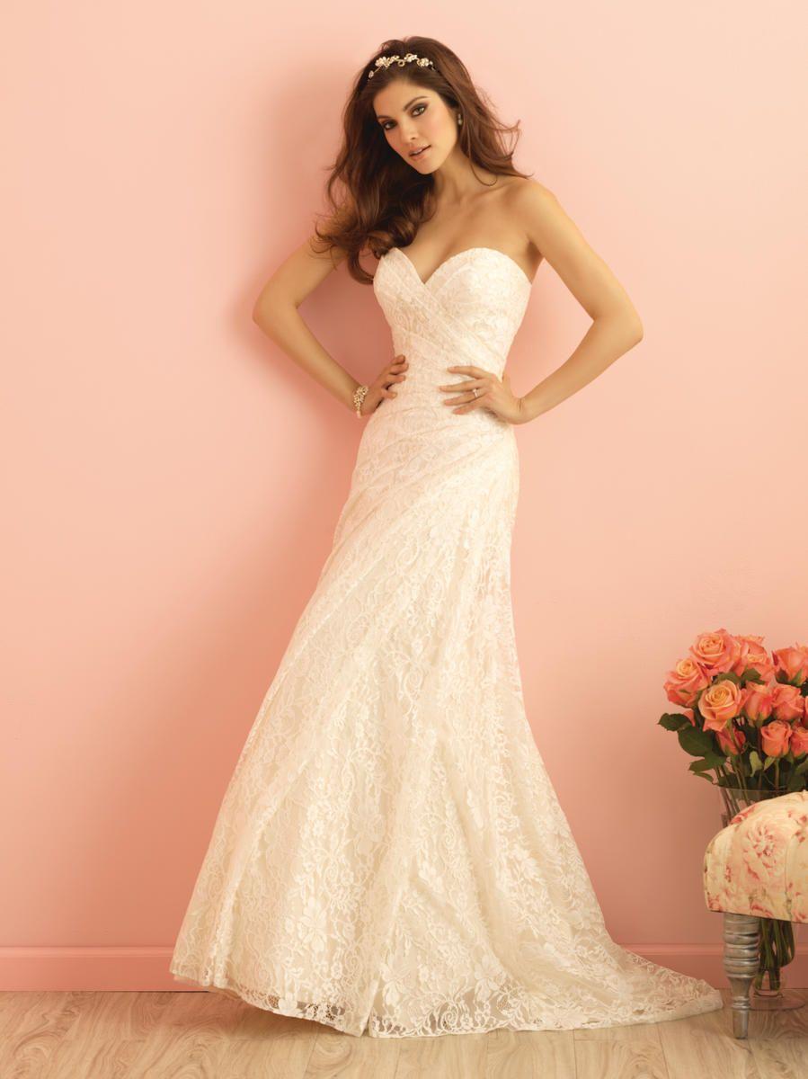 Allure Bridals Romance 2854 Romance Bridal by Allure Glitz Bridal ...