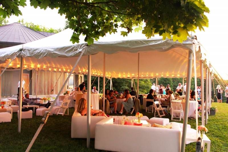Wedding Decoration Ideas Simple Backyard Wedding Decorations With Large Tent And…