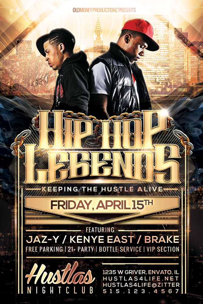 Resultado de imagen para hip hop flyer Flyer Pinterest - hip hop flyer template
