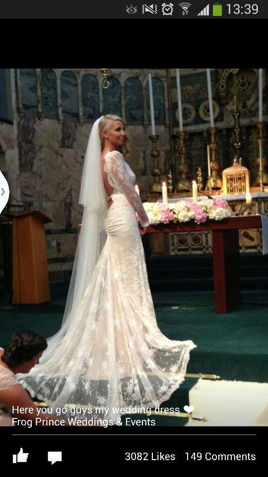 Cari S Closet Owner Wedding Dress Just Fabulous