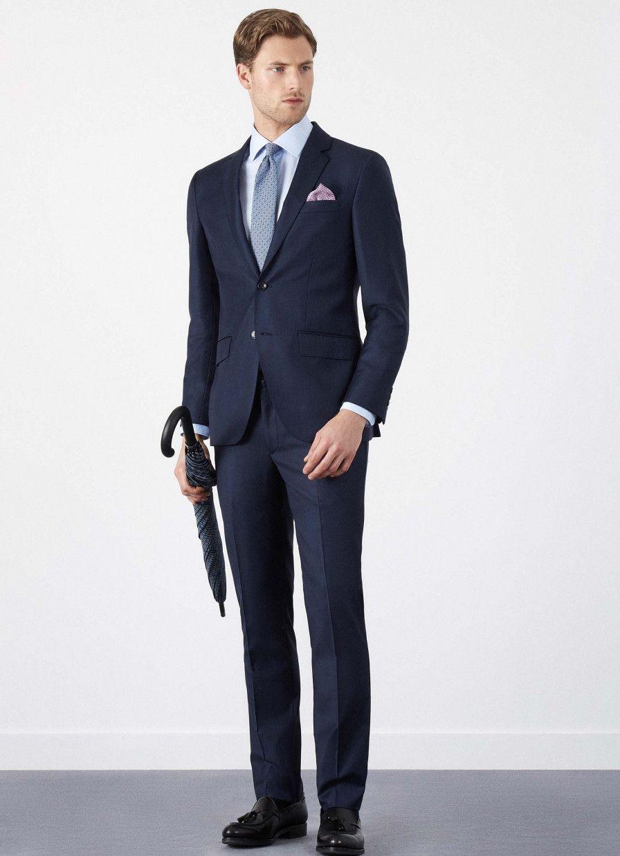 Hackett Mayfair Classic Sharkskin Suit Oděvy b2d9f8bc17