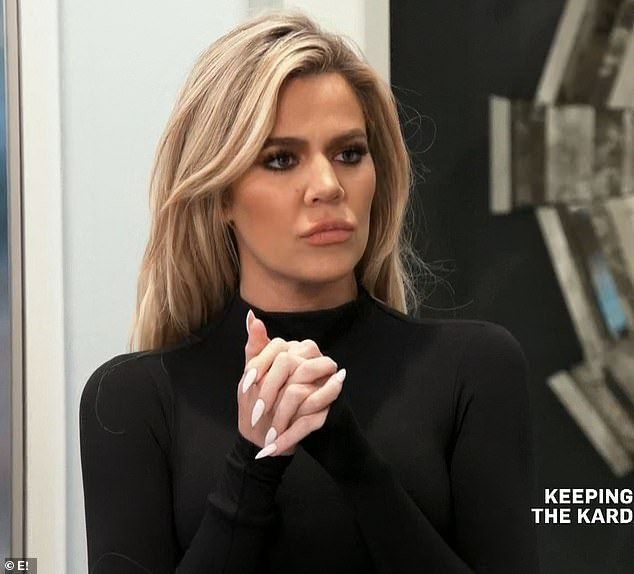 Khloe Kardashian admits to deep-seated issues with her mother's boyfriend Corey Gamble on KUWTK