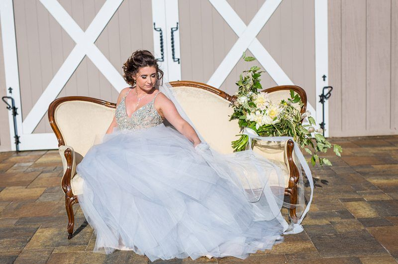 Something Blue Wedding Inspiration Wedding Angels Bridal Boutique Atlanta Bridal Boutiqu Blue Wedding Dresses Ball Gown Wedding Dress Ruffle Wedding Dress