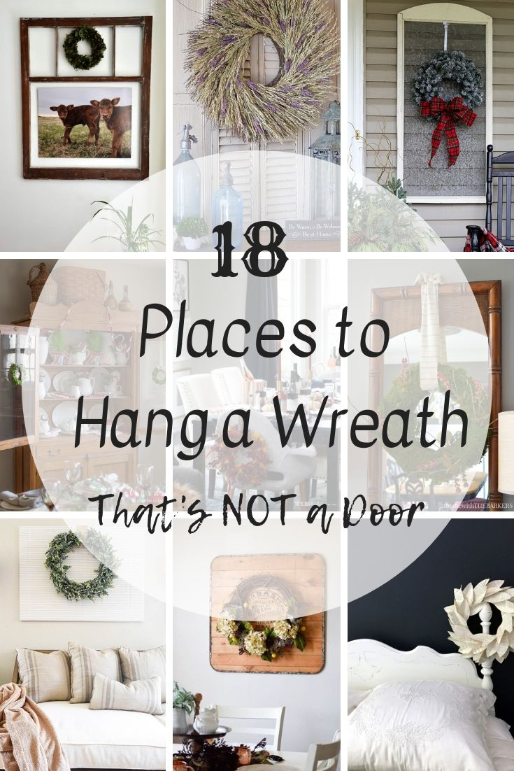 Places to hang  wreath that   not on the door also best home decor ideas and inspiration images diy for rh pinterest