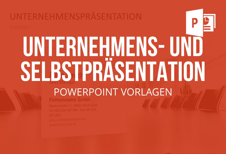 Unternehmens Und Selbstprasentation Powerpoint Bei Presentationload Power Point Unternehmungen Prasentation