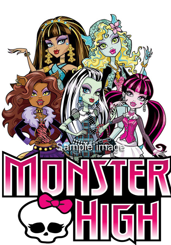 249 Gbp Monster High Wall Stickers Choice Of 30 Images In 2