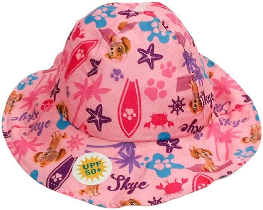 6c1bd68984f Amazon.com  Nickelodeon Girls  Paw Patrol Printed Bucket Hat Blue  Clothing