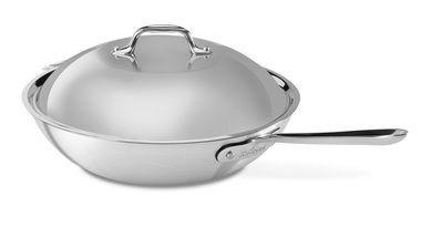All-Clad MC2 Irregular 12'' Chef's Pan with Lid