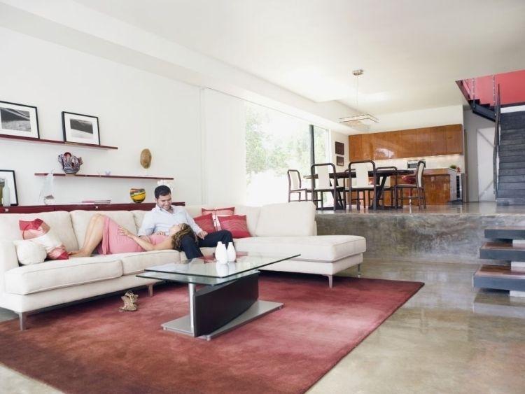 Nach Feng Shui Wohnzimmer Einrichten 50 Beispiele Bauhausstil